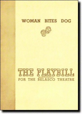 Woman Bites Dog, in 1946, was Kirk Douglas's seventh Broadway play, the last one before he became a movie star. He returned 17 years later for Cuckoo.