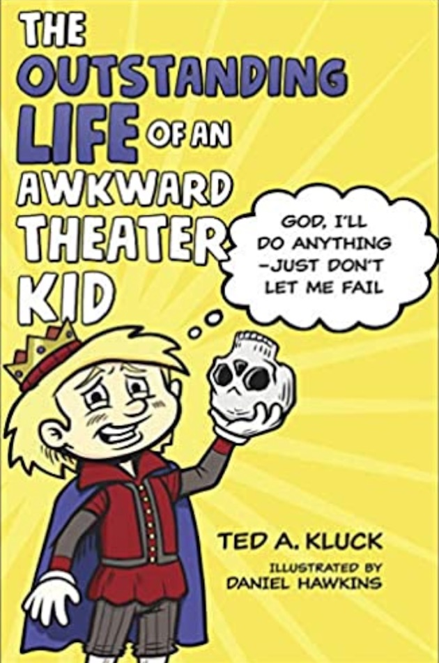 Awkward theater kid book cover