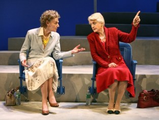 Deuce, a play by Terrence McNally in 2007, with Marian Seldes and Angela Lansbury