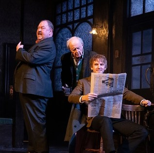 Mark Addy and Dan Stevens were to star in Hangmen on Broadway