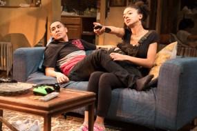 """Ed Ventura as Leon/Lee/Chookie. and Cindy De La Cruz as his sister Marie/Rie-rie/Sweet-pea, in """"The Siblings Play"""" by Ten Dara Santiago, now available online"""