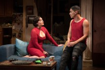 Dalia Davi as Lenora and Ed Ventura as one of her (neglected) sons.