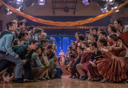a neighborhood dance meant to foster unity has the opposite effect. Spielberg says that about 20 of the 33 Puerto Rican characters are portrayed by performers who are Puerto Rican or of Puerto Rican descent.