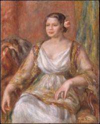 Actress Tilla Durieux (Ottilie Godeffroy, 1880–1971) 1914 Auguste Renoir