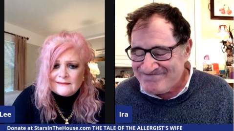 Faith Prince and Richard Kind perform in The Tale of the Allergists Wife on Stars in the House, which is branching out from variety talk show to live readings of full-length plays.