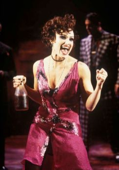 Idina Menzel in The Wild Party, New York City Center 2000