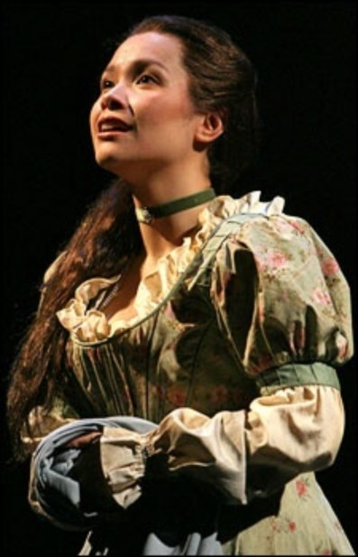 Lea Salonga as Fantine in Les Miserables