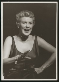"Stritch in the Rodgers and Hart musical ""On Your Toes,"" 1954"