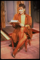 "Actress Patti Lupone in a scene fr. the Broadway play ""Accidental Death of an Anarchist."" 1984"