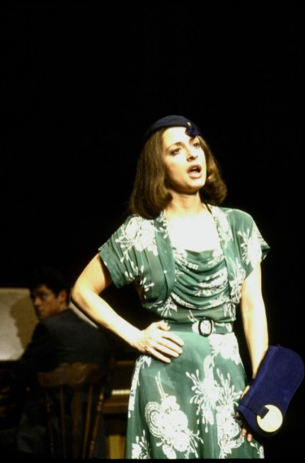 Patti LuPone in The Cradle Will Rock , Off-Broadway, 1983