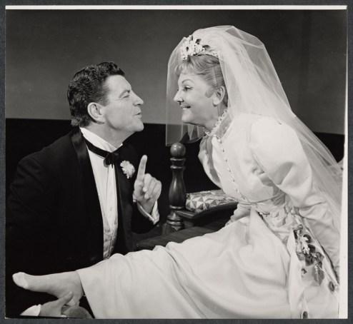 "with Robert Preston in ""I Do! I Do!"" 1966"