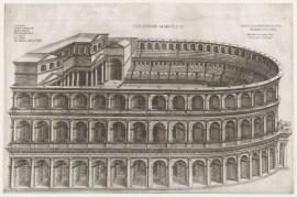Speculum Romanae Magnificentiae- Theater of Marcellus 16th century Pirro Ligorio I