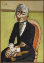 The Old Actress 1926 by Max Beckmann
