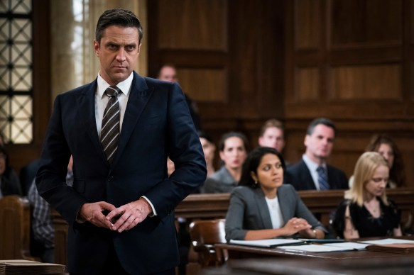"LAW & ORDER: SPECIAL VICTIMS UNIT -- ""Gone Baby Gone"" Episode 1909 -- Pictured: Raul Esparza as A.D.A. Rafael Barba -- ("