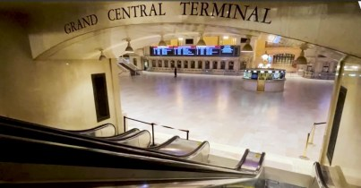 Grand Central Terminal in New York Paused