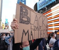 Black Lives matter in theater district