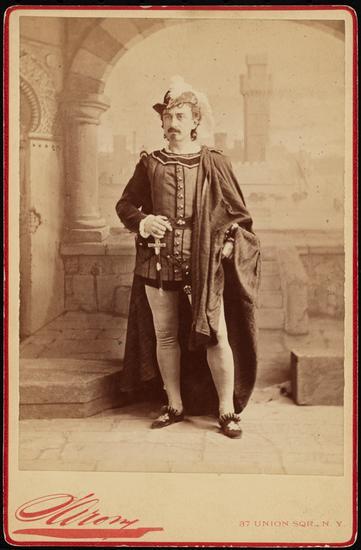 Edwin Booth as Iago in Othello 1871