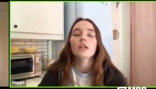Kaitlyn Dever as daughter who disapproves
