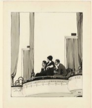 Edward Hopper At The Theater, 1916-1922
