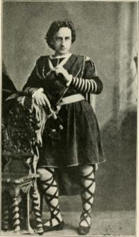 Booth as Hamlet