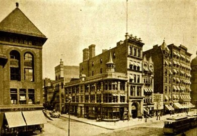 Empire Theater, built 1893 on Broadway between 40th and 41st Street, demolished 1953