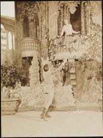 Romeo and Juliet 1899 Maude Adams as Juliet and William Faversham as Romeo