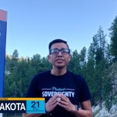 South Dakota, featuring tribal activist Kellen Returns From Scout