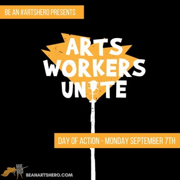 Arts Workers United 2 poster