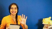"Mahira Kakkar expresses gratitude to Representative John Lewis in ""Thank You Letter,"" by Jaclyn Backhaus.Credit..."