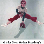 G is for Gwen Verdon