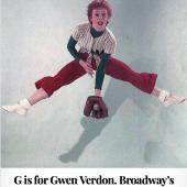 G is for Gwen Verdon