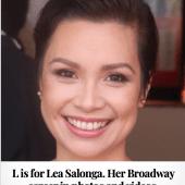 L is for Lea Salonga