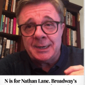 N is for Nathan Lane