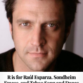 R is for Raul Esparza
