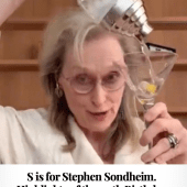 S is for Stephen Sondheim