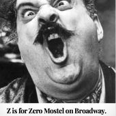 Z is for Zero Mostel