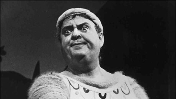 Zero Mostel in A Funny Thing Happened on the Way to the Forum, 1962