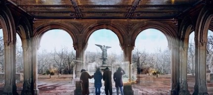 Angels at Bethesda Fountain