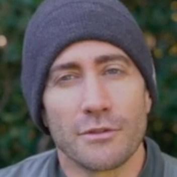 Jake Gyllenhaal at Chanukah