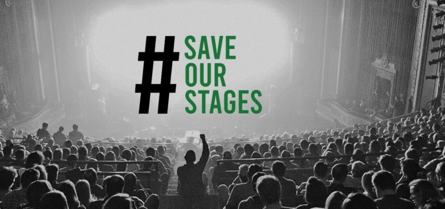 Save Our Stages poster