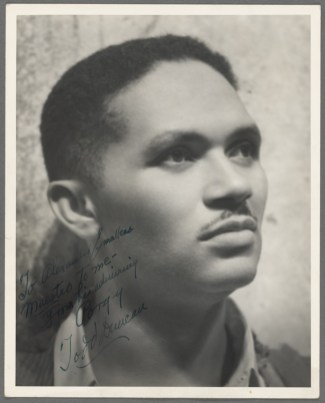 in 1903, baritone Todd Duncan was born in Danville, Kentucky. In addition to originating the role of Porgy in Porgy and Bess, Duncan appeared in Lost in the Stars and Cabin in the Sky on Broadway.