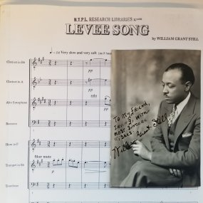 William Grant Still (1895-1978) was the first African American composer to conduct a major American Symphony orchestra when he led the Los Angeles Philharmonic in 1936. He was also the first African American person to have an opera (Troubled Island) performed by a major opera company ( @NYCOPERA ) and the first to have an opera performed on national television.