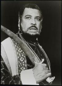 James Earl Jones as Othello in 1982
