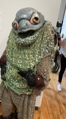 Toad Lord of Death by Ralph Lee, 1994 Lee, best known as the creator of the Greenwich Village Halloween Parade, created this Toad Lord of Death for a play called A Popol Vuh Story, an adaptation by Cherrie Moraga of a Mayan creation story.