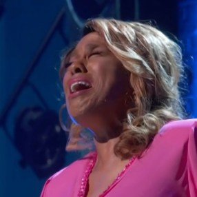 Jennifer Holliday, singing her hit song from 1981