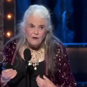 Lois Smith, who made her Broadway debut in 1952, winning her first Tony, at age 90, for The Inheritance