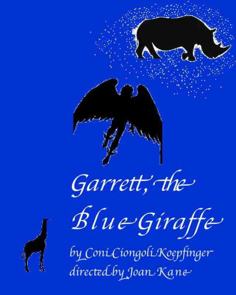 Garrett the blue GiraffeBl