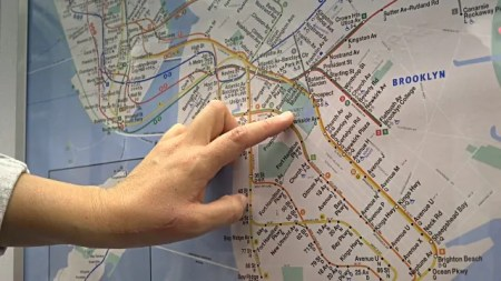 mappa metro new york