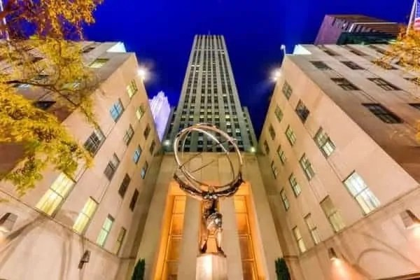 rockfeller center new york attrattive