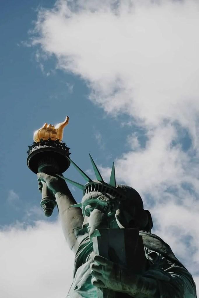 statua della libertà biglietti corona